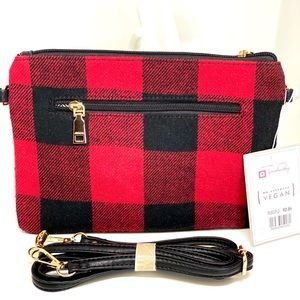 JEN & CO🔥NWT~SOLD OUT🔥CONVERTIBLE PLAID BAG